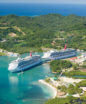 roatan cruise ship dpck